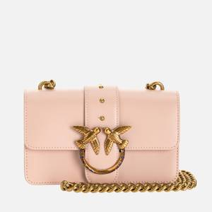 Pinko Women's Love Mini Icon Jewel Shoulder Bag - Rose Dust Pink