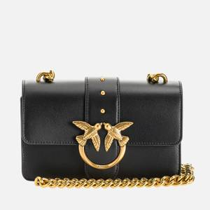 Pinko Women's Love Mini Icon Simply Shoulder Bag - Black