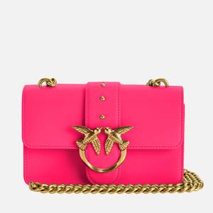 Pinko Women's Love Mini Icon Simply Shoulder Bag - Brilliant Pink