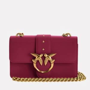 Pinko Women's Love Mini Icon Simply Shoulder Bag - Brilliant Pink