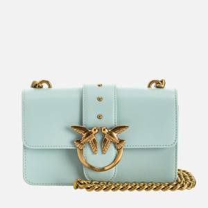 Pinko Women's Love Mini Icon Simply Shoulder Bag - Sage Grey