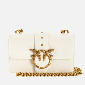 Pinko Women's Love Mini Icon Simply Shoulder Bag - White