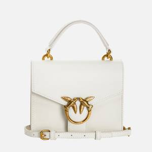 Pinko Women's Love Mini Top Handle Bag - White