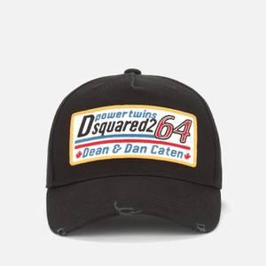 Dsquared2 Men's Patch Baseball Cap - Black