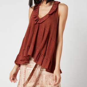 Free People Women's Out And About Tank Top - Petrichor