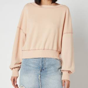 Free People Women's Take Me Back Sweatshirt - Pearl Island