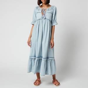 Free People Women's One And Only Midi Dress - Light Indigo