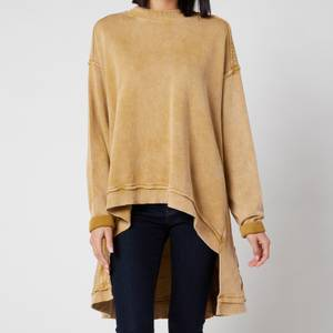 Free People Women's Iggy Pullover Sweatshirt - Untold Gold