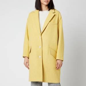 Isabel Marant Étoile Women's Limi Coat - Yellow