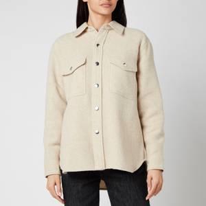 Isabel Marant Étoile Women's Faxon Boiled Wood Shirt - Ecru