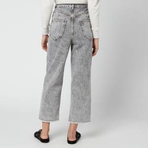 Isabel Marant Étoile Women's Laliskasr Jeans - Grey