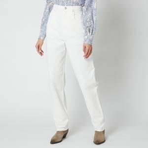 Isabel Marant Étoile Women's Corfy Jeans - White