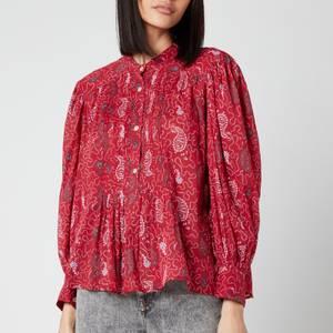Isabel Marant Étoile Women's Adigra Shirt - Red