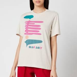 Isabel Marant Étoile Zewel T-Shirt - Ecru