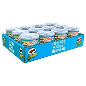 Pringles Salt & Vinegar 12 x 40g