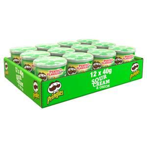 Pringles Sour Cream & Onion 12 x 40g