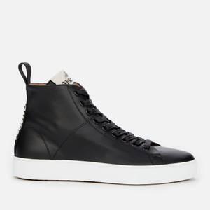 Vivienne Westwood Women's Leather Hi-Top Trainers - Black