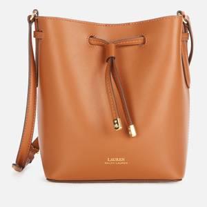 Lauren Ralph Lauren Women's Dryden Debby II Drawstring Mini Bag - Lauren Tan/Monarch Orange