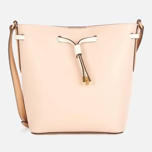Lauren Ralph Lauren Women's Dryden Debby II Drawstring Mini Bag - Ballet Pink/Nude/Vanilla