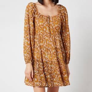 Faithful The Brand Women's Indira Mini Dress - La Medina Paisley Print