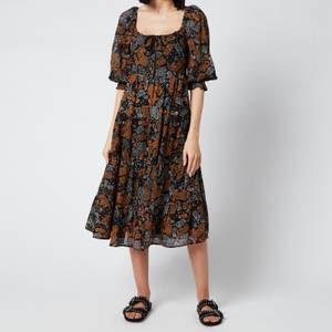 Faithful The Brand Women's Darsha Midi Dress - Ankara Paisley Print