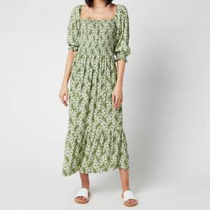 Faithful The Brand Women's Le Galet Midi Dress - Sable Paisley Print