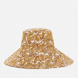 Faithful The Brand Women's Frederikke Sun Hat - La Medina Paisley Print
