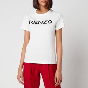 KENZO Women's Logo Classic T-Shirt - White
