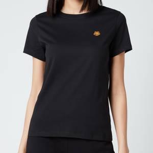 KENZO Women's Tiger Crest Classic T-Shirt - Black