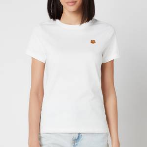 KENZO Women's Tiger Crest Classic T-Shirt - White