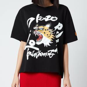 KENZO Women's Loose T-Shirt - Black