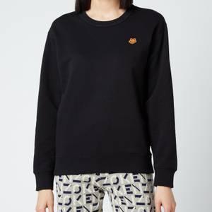 KENZO Women's Tiger Crest Classic Sweatshirt - Black