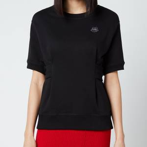 KENZO Women's Waisted Sweatshirt - Black -