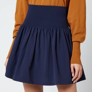 KENZO Women's Ks Short Flared Skirt - Midnight