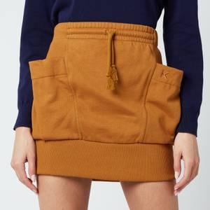 KENZO Women's Mini Skirt - Dark Beige