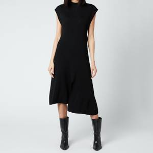KENZO Women's Asymmetrical Dress - Black