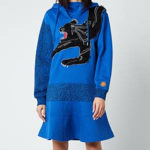 KENZO Women's Hoodie Dress - Royal