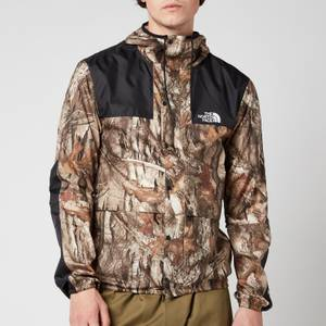 The North Face Men's Seasonal Mountain Jacket - Kelp Tan/Forest Floor Print