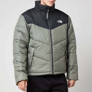 The North Face Men's Saikuru Jacket - Agave Green/Asphalt Grey