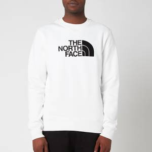 The North Face Men's Drew Peak Sweatshirt - TNF White/TNF Black