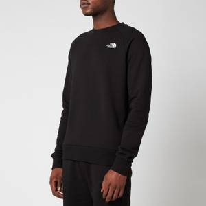 The North Face Men's Raglan Redbox Sweatshirt - TNF Black/TNF White