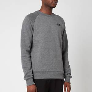 The North Face Men's Raglan Redbox Sweatshirt - TNF Medium Grey Heather