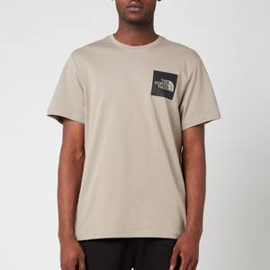 The North Face Men's Fine Short Sleeve T-Shirt - Mineral Grey