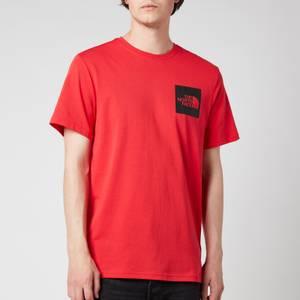 The North Face Men's Fine Short Sleeve T-Shirt - Horizon Red