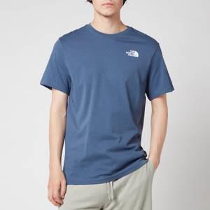 The North Face Men's Redbox Short Sleeve T-Shirt - Vintage Indigo