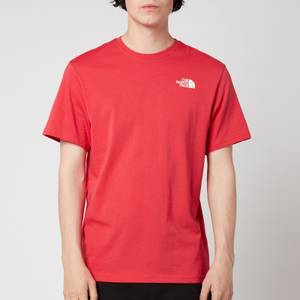 The North Face Men's Redbox Short Sleeve T-Shirt - Rococco Red