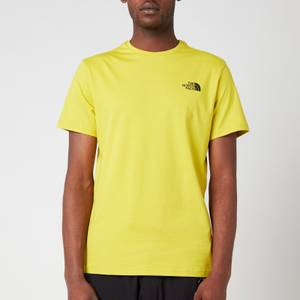 The North Face Men's Simple Dome Short Sleeve T-Shirt - Citronelle Green