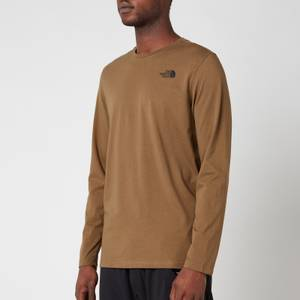 The North Face Men's Easy Long Sleeve T-Shirt - Military Olive