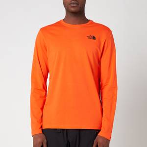 The North Face Men's Redbox Long Sleeve T-Shirt - Flame