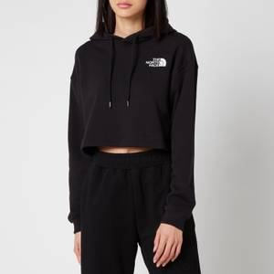 The North Face Women's Trend Cropped Drop Hoodie - TNF Black